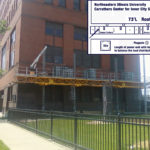 Bennu Parts and Service - Bennu Scaffolding Platform - Northeastern Illinois University project