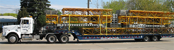 Bennu Parts and Service - Bennu Scaffolding Platform Series 3 - truck transportation