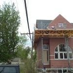 Bennu Scaffolding Platform Series 2 - Masonry Systems - Des Plaines, Illinois jobsite