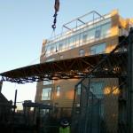 Bennu Scaffolding Platform Series 3 - jobsite - Evanston, Illinois - 1717 Ridge Ave.