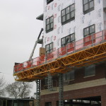 Bennu Scaffolding Platform Series 3 - Skokie - Metropolitan of Skokie jobsite