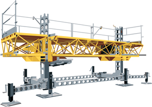 Bennu Scaffolding Platform Series #3
