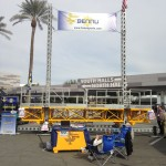 Bennu Scaffolding Platform Series 3 at the World of Concrete 2015