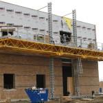 Bennu Scaffolding Platform Series 3 - GC Masonry - Burr Ridge jobsite