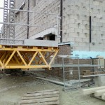 Bennu Parts and Service - Bennu Scaffolding Platform Series 3 - jobsite - Phoenix, Illinois - Coolidge School